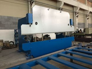 Cina 125T / 4000mm CNC Hydraulic Press Brake Bending Mesin untuk Steel Plate pabrik